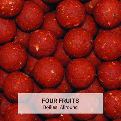Boilies Allround Four Fruits