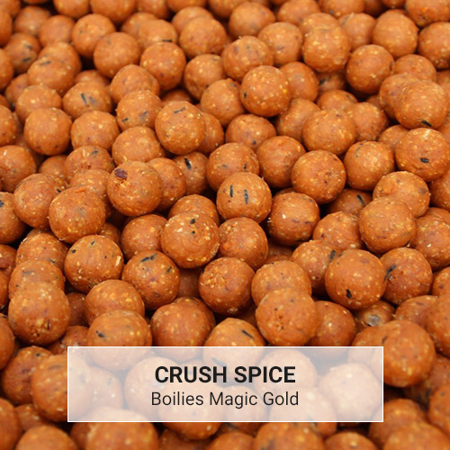 Boilies Magic Gold Crush Spice