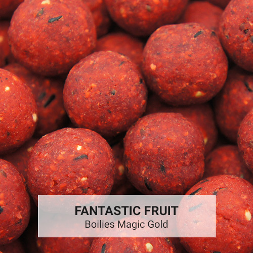 Boilies Magic Gold Fantastic Fruit