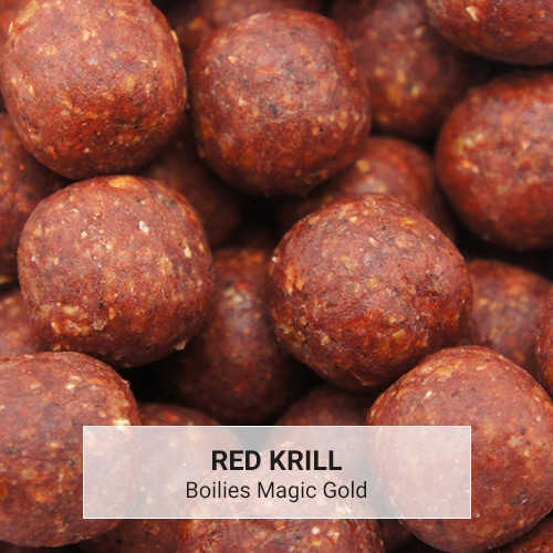 Boilies Magic Gold Red Krill